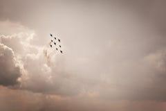 Aerobatics Stock Photography