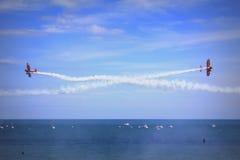 Aerobatics drużyna zdjęcia royalty free