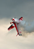Aerobatics With Smoke Royalty Free Stock Photography