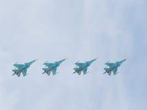Aerobatics Su-34 Stock Images