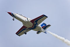 Aerobatics Team display at airshow Stock Photography