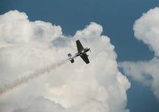 Vintage aerobatic aircraft Stock Photos