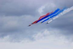 Aerobatics walki piloci Zdjęcie Stock