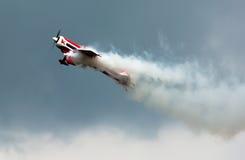 Aerobatics Z dymem zdjęcie stock