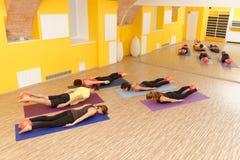 Aerobes Pilates Lizenzfreie Stockfotografie