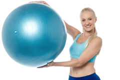 This is an aerobic ball ! Royalty Free Stock Photography