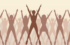 Aerobic dance Stock Photo
