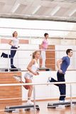 Aerobic exercise Royalty Free Stock Photography
