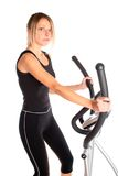 Aerobic exercising Stock Photo