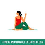Aerobic icons. full color 09 Royalty Free Stock Photos