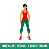Aerobic icons. full color 017 Royalty Free Stock Images