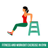 Aerobic icons. full color 30 Royalty Free Stock Images