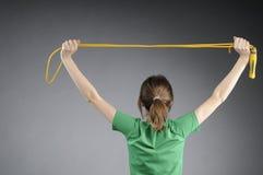 Aerobic Instructor Exercising Royalty Free Stock Photos