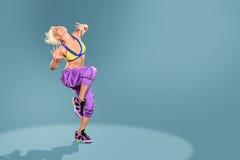 Aerobic-Mädchen Stockbilder