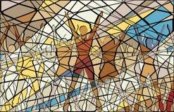 Aerobic mosaic Royalty Free Stock Images