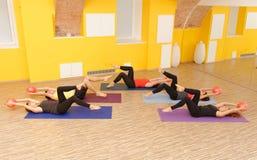 Aerobic Pilates Royalty Free Stock Photo