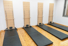 Aerobic Pilates room Stock Photo
