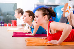 Aerobics 10 Royalty Free Stock Images