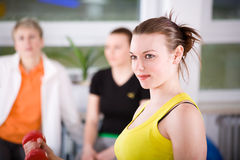 Aerobics 11 Royalty Free Stock Photos