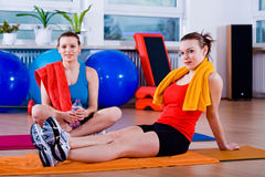 Aerobics 4 Lizenzfreies Stockfoto