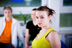 Aerobics Royalty Free Stock Photo