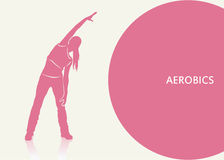 Aerobics background Stock Photo