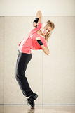 Aerobics dance Royalty Free Stock Photography