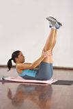 Aerobics detail Stock Photo