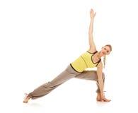 Aerobics exercises Royalty Free Stock Images