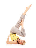 Aerobics exercises Stock Photography
