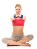 Aerobics exercises Royalty Free Stock Photo