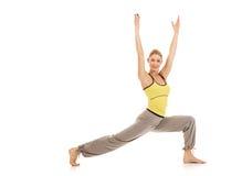 Aerobics exercises Stock Photos