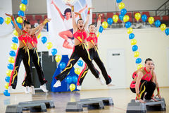 Aerobics and fitness Stock Photography