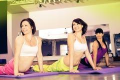 Aerobics girls Stock Image