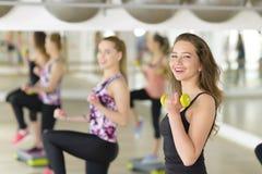 Aerobics at Gym Royalty Free Stock Photo