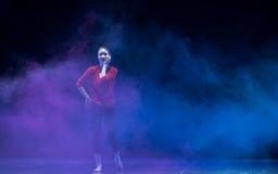 Aerobics-Modern dance Royalty Free Stock Photo