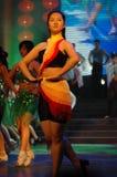 Aerobics prestaties-2007 Jiangxi-het Feest van het de Lentefestival Royalty-vrije Stock Foto's