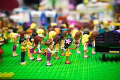 Aerobics session lego Stock Images