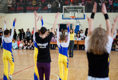 Aerobics und Eignung Stockfoto