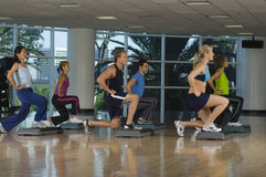 Aerobics Workout Royalty Free Stock Image