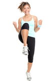 aerobików sprawności fizycznej kobieta Zdjęcie Royalty Free