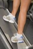 aerobika krok Obrazy Royalty Free