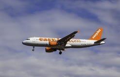 Aerobus A320-214 - Łatwy strumień Zdjęcie Stock