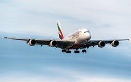 Aerobus A380-800 Obrazy Stock