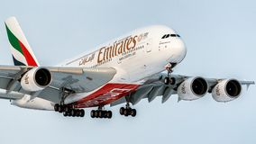 Aerobus A380-800 Obraz Royalty Free