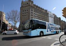 Aerobus Stockbild
