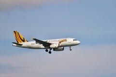 Aerobus A320-200 Obraz Royalty Free