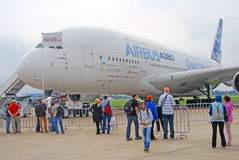 Aerobus A380 Obrazy Royalty Free