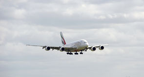 Aerobus A380 Obraz Stock