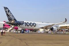 Aerobus A350-1000 Zdjęcia Royalty Free